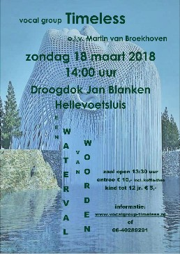 Waterval Poster
